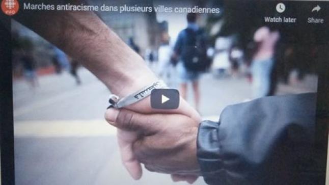 Marches antiracisme dans plusieurs villes canadiennes