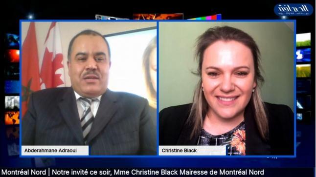 Christine Black : «Rayonnante, la communauté marocaine est incontournable dans Montréal-Nord»