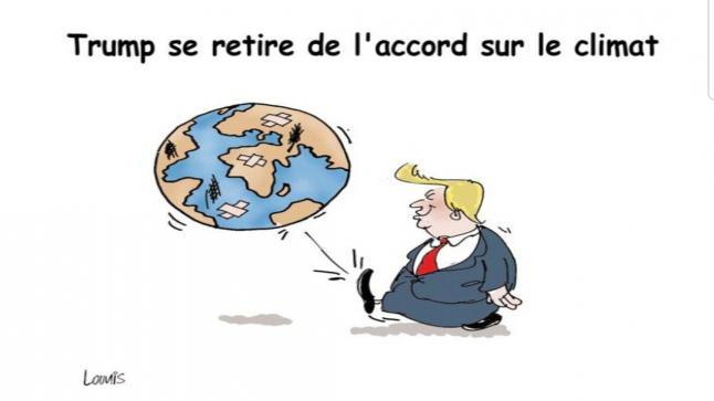 Trump et le climat