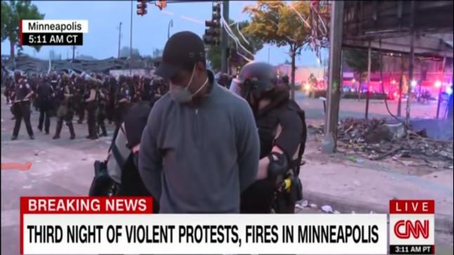 CNN en mode arrestation