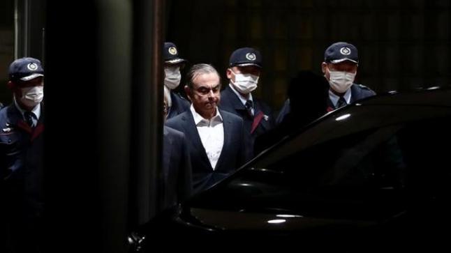 Carlos Ghosn a quitté le Japon pour Beyrouth