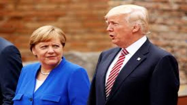 Merkel refuse de se rendre au G7 à Washington